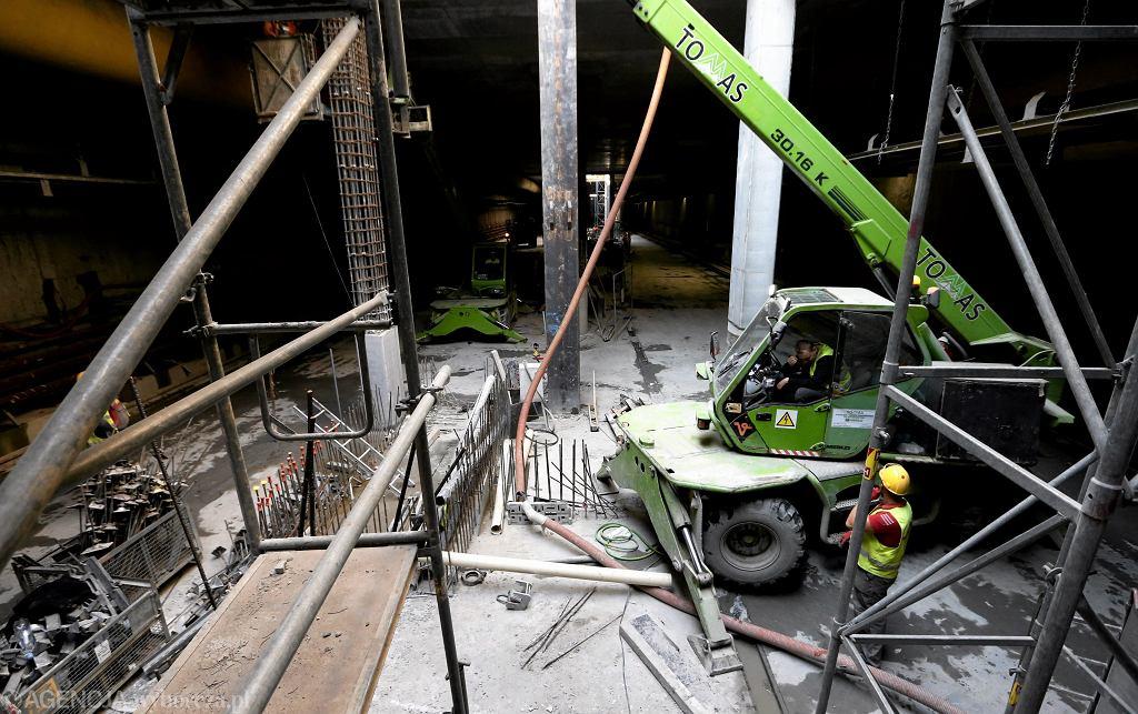 Budowa II linii metra - zdjęcie ilustracyjne