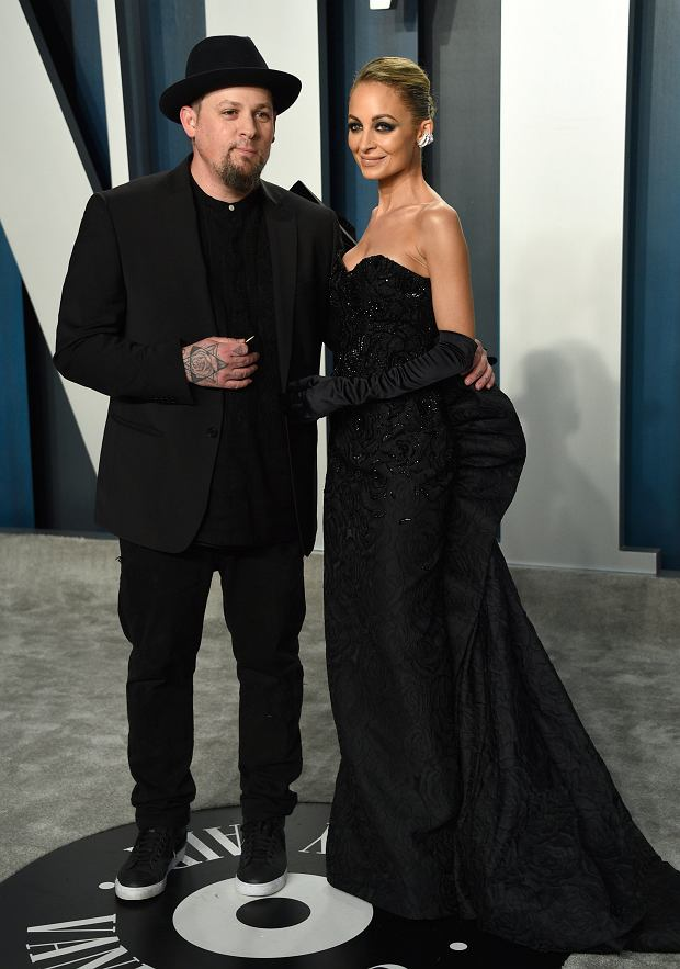 Joel Madden, Nicole Richie, Vanity Fair, Oscary 2020