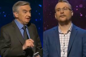 Tadeusz Sznuk i Hubert Pawlicki w programie '1 z 10'
