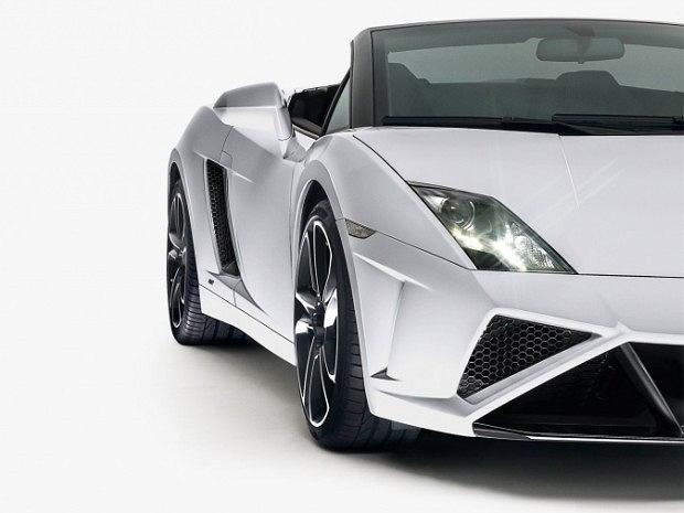 Lamborghini Gallardo Spyder po faceliftingu