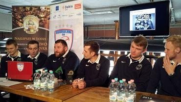 Konferencja z udziałem trenerów i zawodników Master Pharm Budowlanych przed rundą wiosenną
