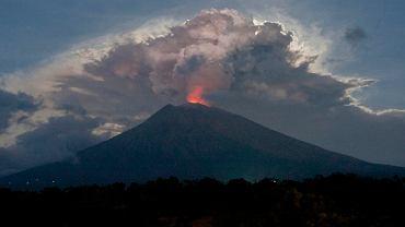 Wybuch wulkanu na Bali