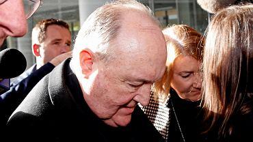 3.07.2018, Newcastle, Australia, abp Philip Wilson przed odczytaniem wyroku.