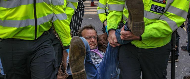Londyn: 500 zatrzymanych w związku z protestem ekologów