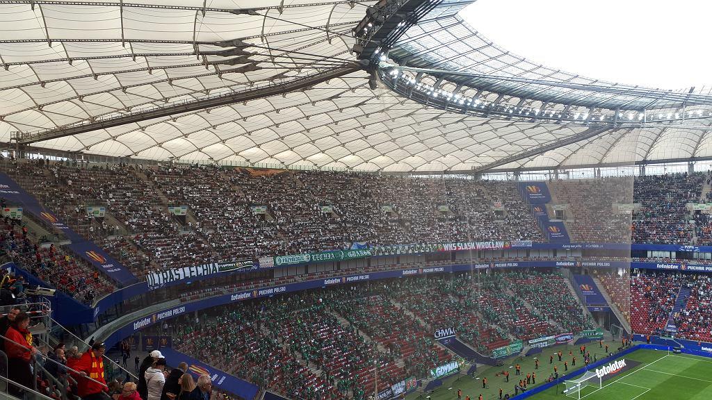 Mecz Lechii z Jagiellonią na Stadionie Narodowym