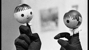 Symbolem Widzialnej Ręki stały się postaci z programu telewizyjnego 'Jacek i Agatka'