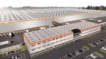 Projekt centrum logistycznego Zalando