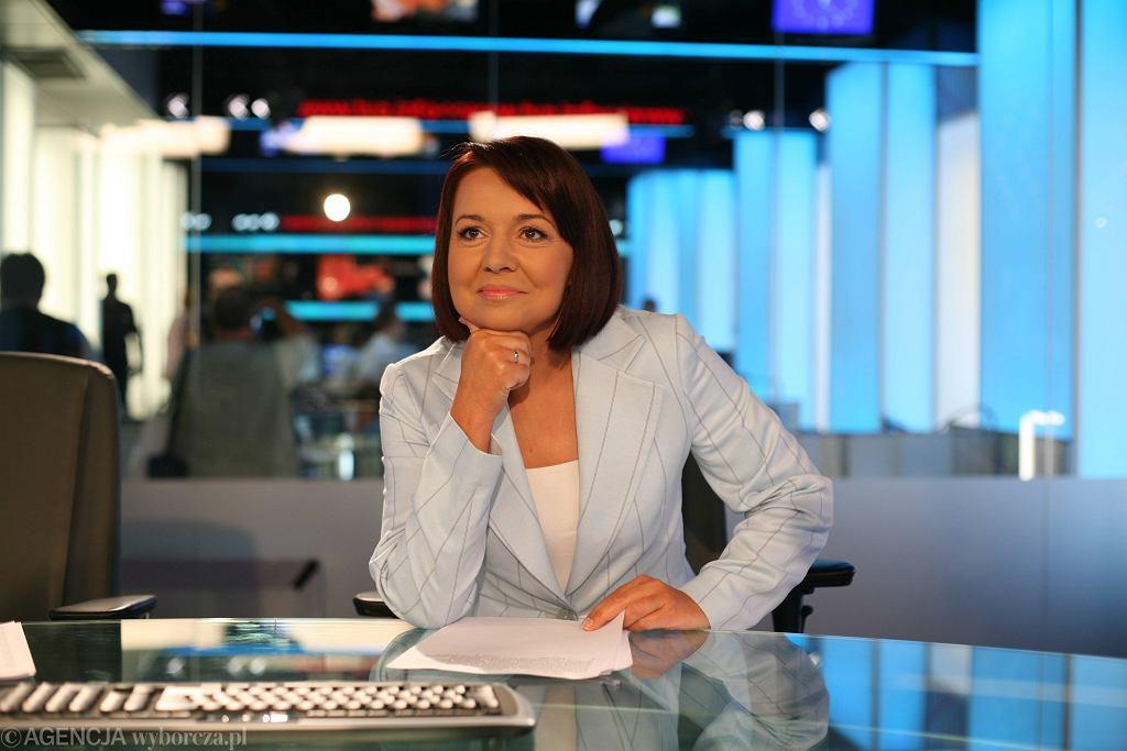 Danuta Holecka, szefowa 'Wiadomości'