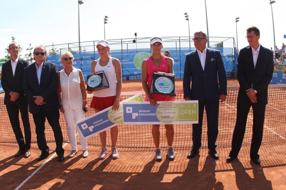 Triumfatorki turnieju Powiat Poznański Open