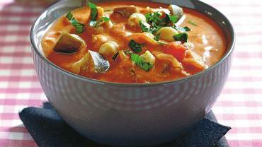 Zupa z bakłażanem