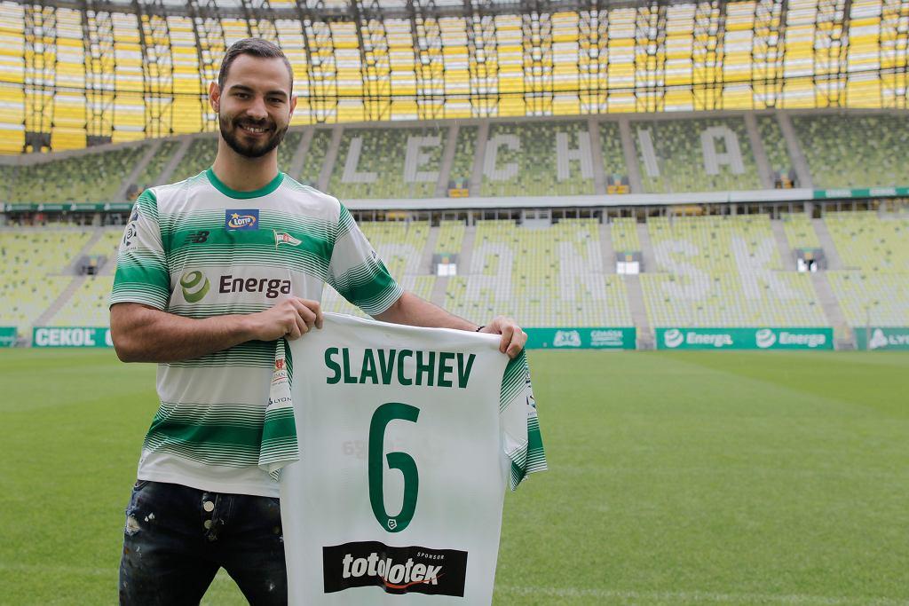 Simeon Sławczew nowym piłkarzem Lechii