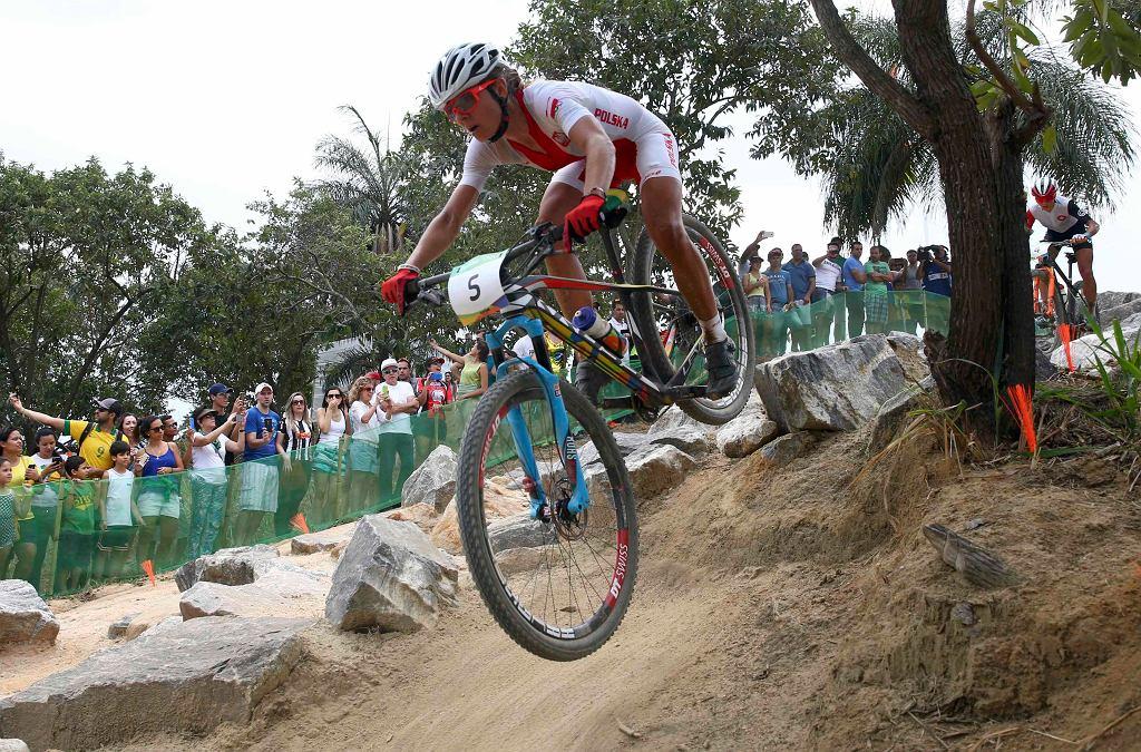 Maja Włoszczowska wywalczyła srebrny medal w kolarstwie górskim w Rio