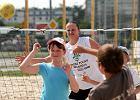 Mistrzynie Polski ćwiczyły z dziećmi na plaży [zdjęcia]