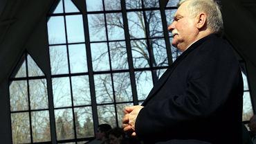 Lech Wałęsa w kościele św. Stanisława Kostki w Gdańsku (zdjęcie ilustracyjne)