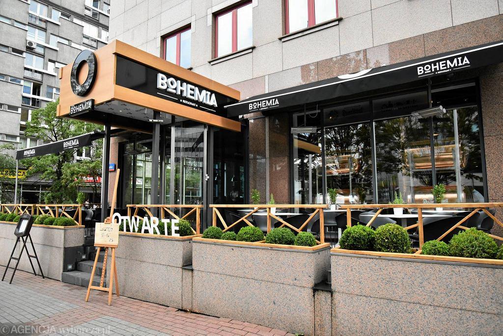 Restauracja Bohemia przy ul. Jana Pawła II 23 / FRANCISZEK MAZUR