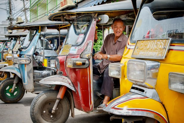 Riksza to popularny środek transportu
