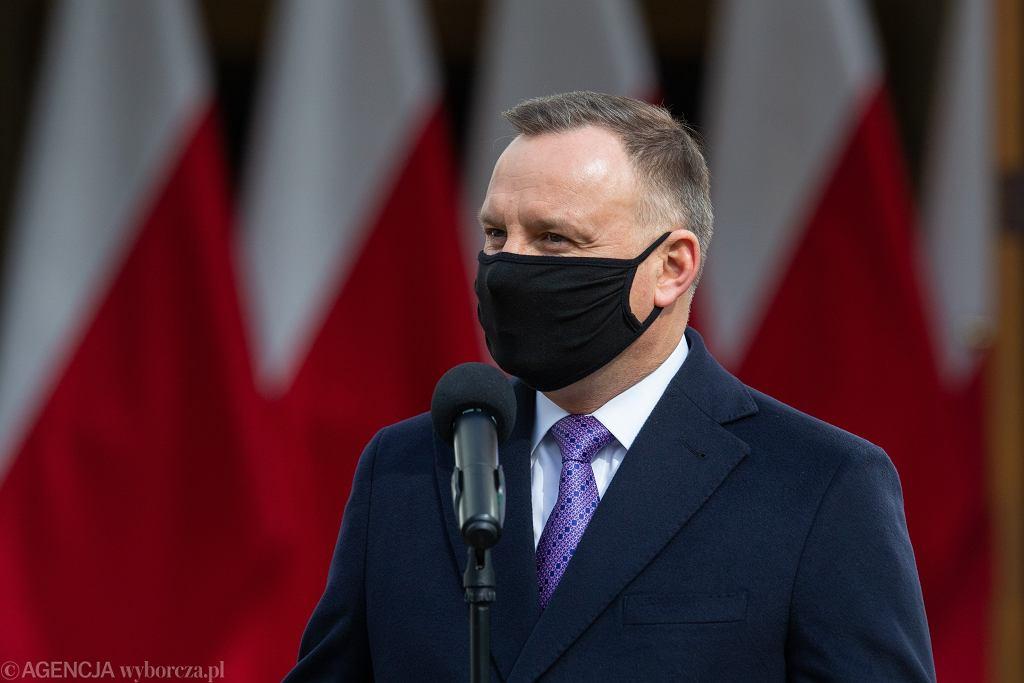 Andrzej Duda odpowiada na gwizdy w Bydgoszczy. 'Niech sobie krzyczą'