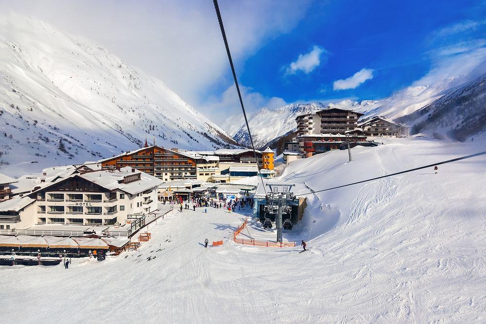 Austria narty, Tyrol - ośrodek Obergurgl