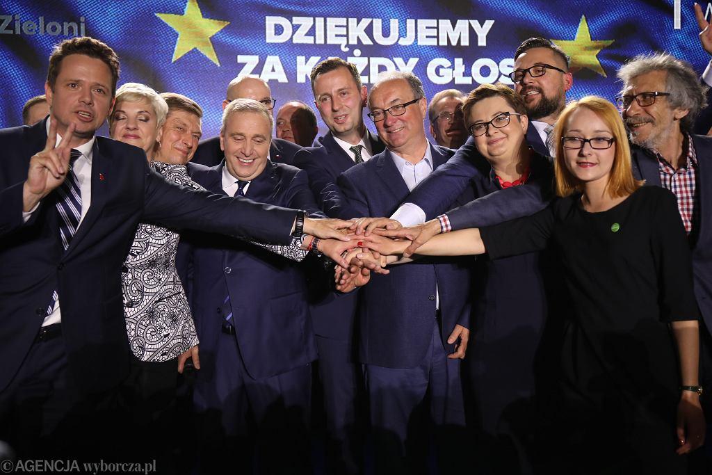 Koalicja Europejska. Wybory do Parlamentu Europejskiego w Warszawie