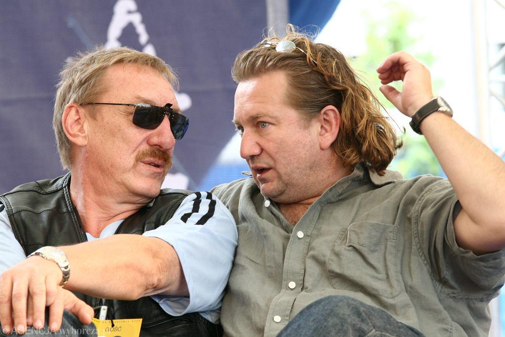 Maciej Maciejewski i Paweł Królikowski w 2007 roku