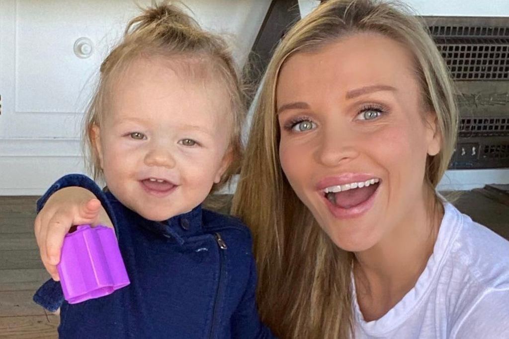 Joanna Krupa z córką Ashą