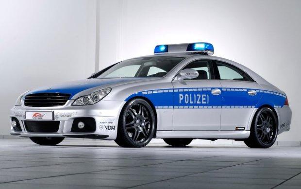Brabus Rocket w służbie policji