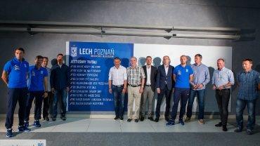 Odsłonięcie tablicy zasad Lecha Poznań