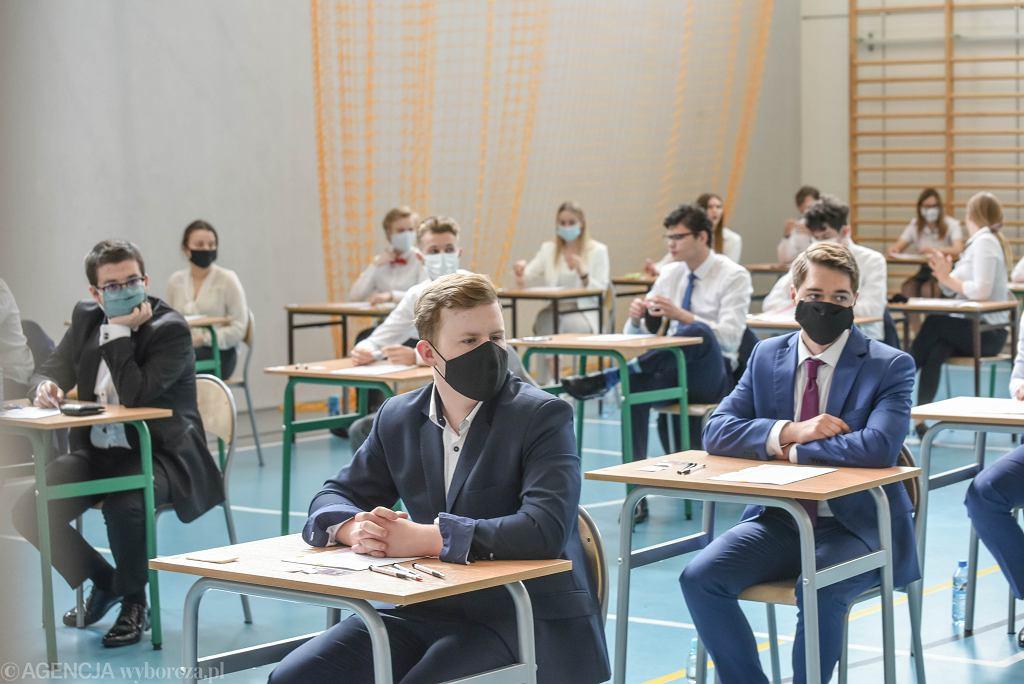 Egzamin maturalny (zdjęcie ilustracyjne)