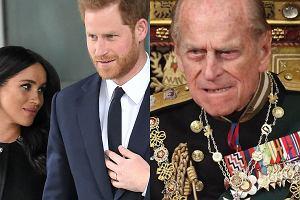 Meghan Markle, książę Harry, książę Filip