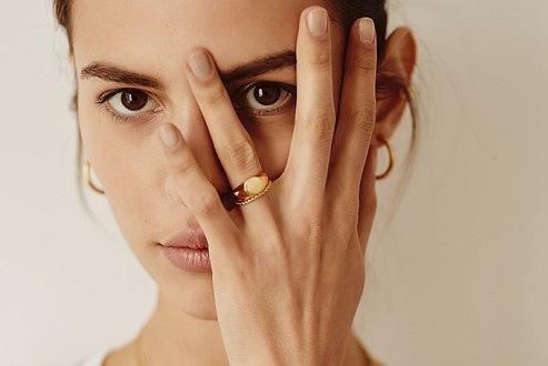 Biżuteria Wishbone - kampania wiosna/lato 2020