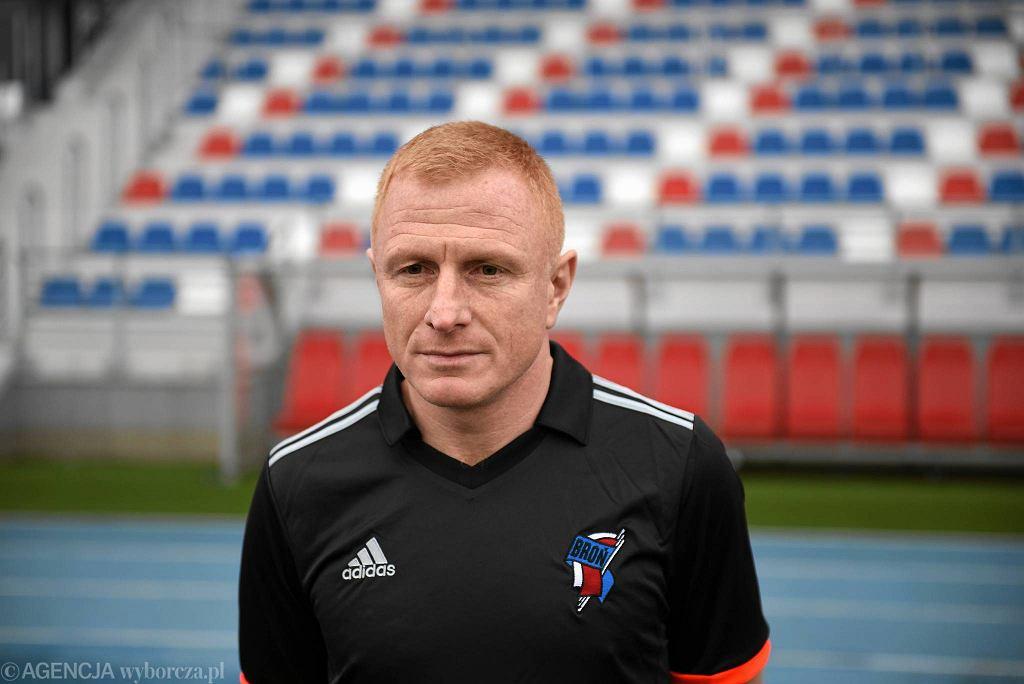Grzegorz Dziubek, trener Broni Radom