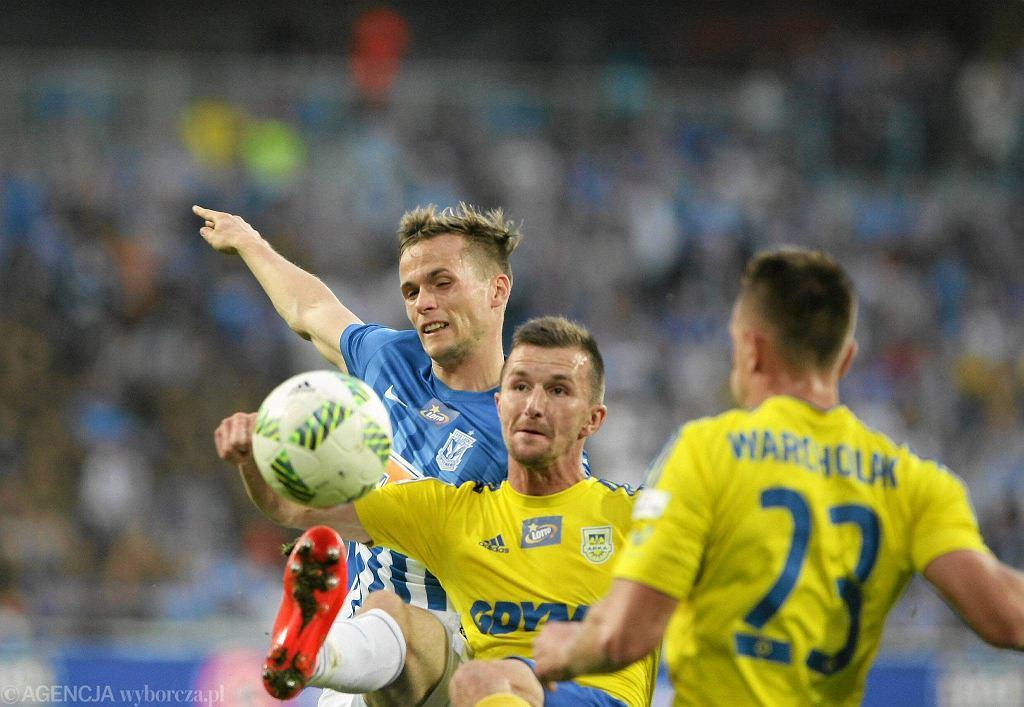 Lech Poznań - Arka Gdynia 0:0. Tomasz Kędziora