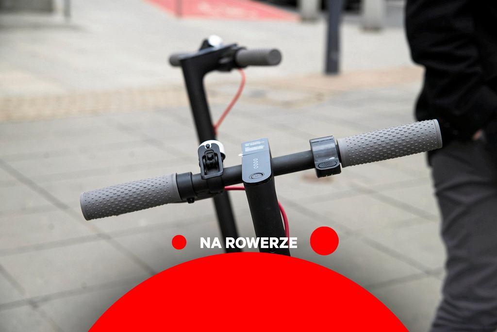 Na rowerze - Hulajnogi elektryczne będą jak rowery. Jest nowy projekt. UTO znikną z chodników, ale nie całkiem