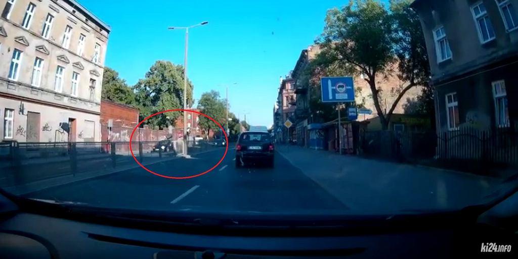Wypadek na przejściu dla pieszych w Inowrocławiu