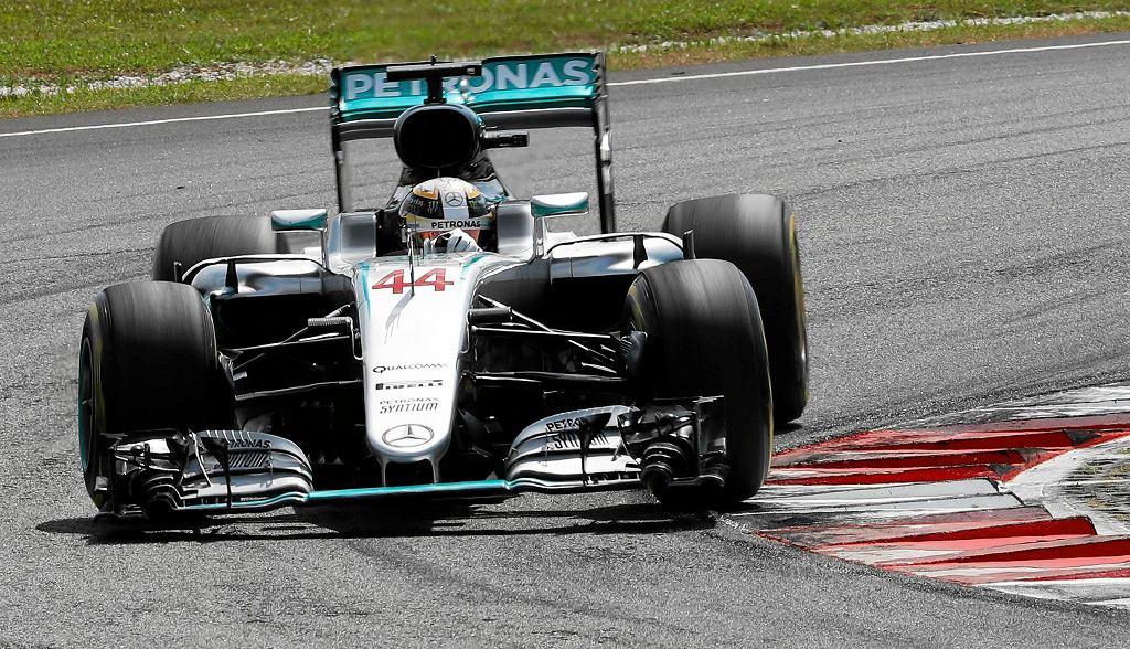 Grand Prix Malezji. Lewis Hamilton
