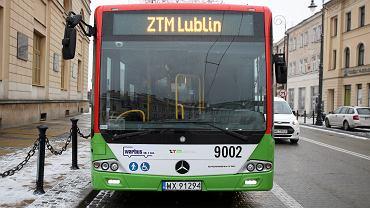 Autobus firmy Warbus w Lublinie