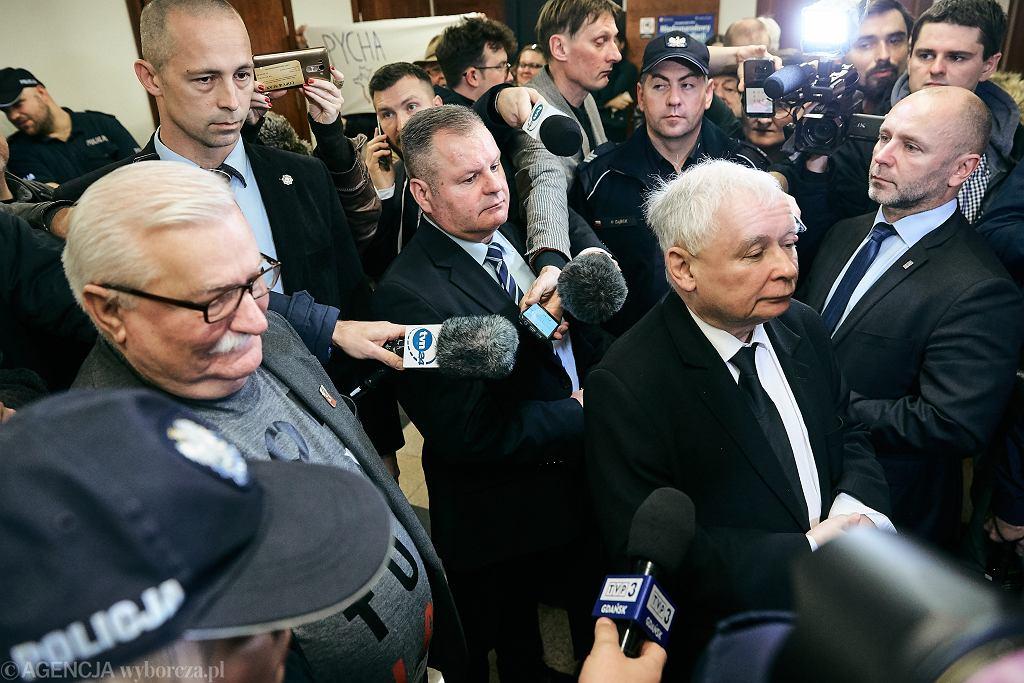 Proces Jarosław Kaczyński kontra Lech Wałęsa