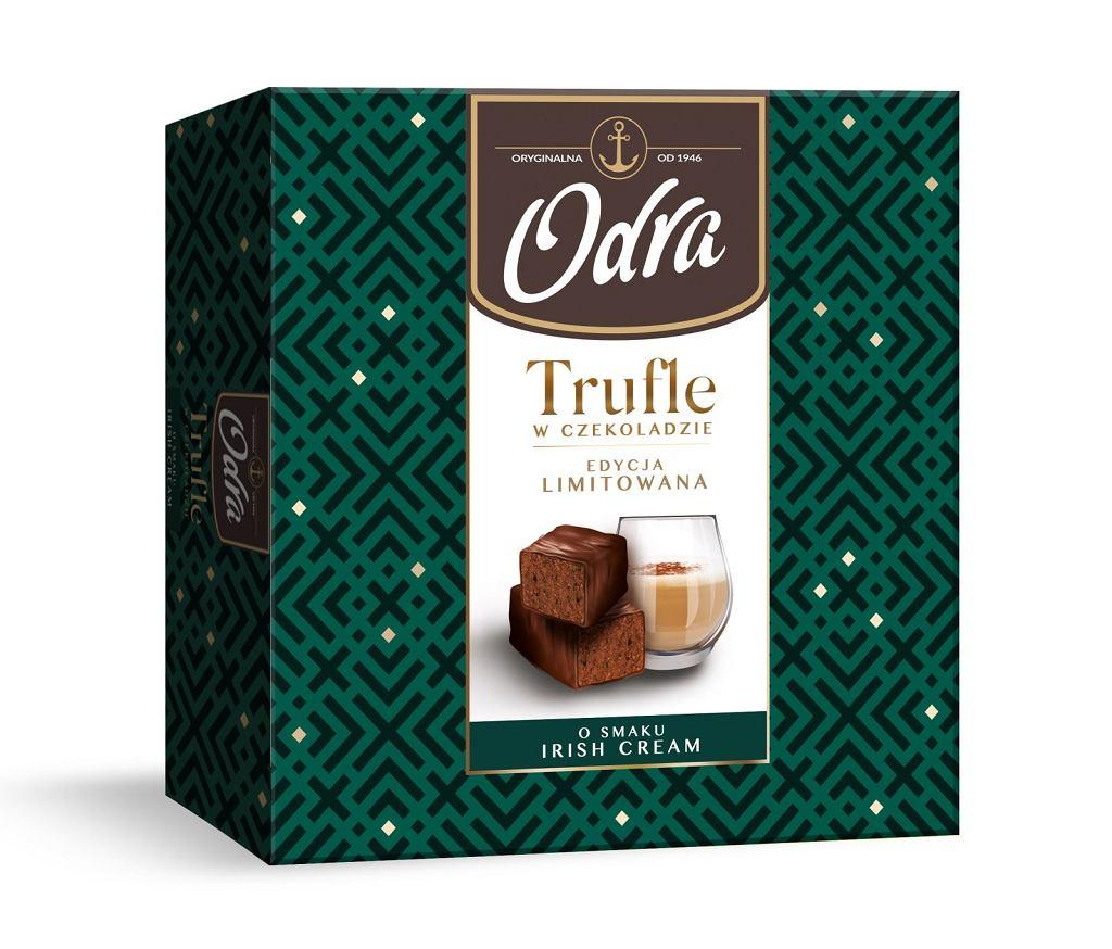 Odra - Trufle w czekoladzie o smaku Irish Cream