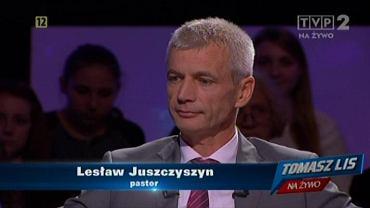 Lesław Juszczyszyn w programie Tomasz Lis na żywo