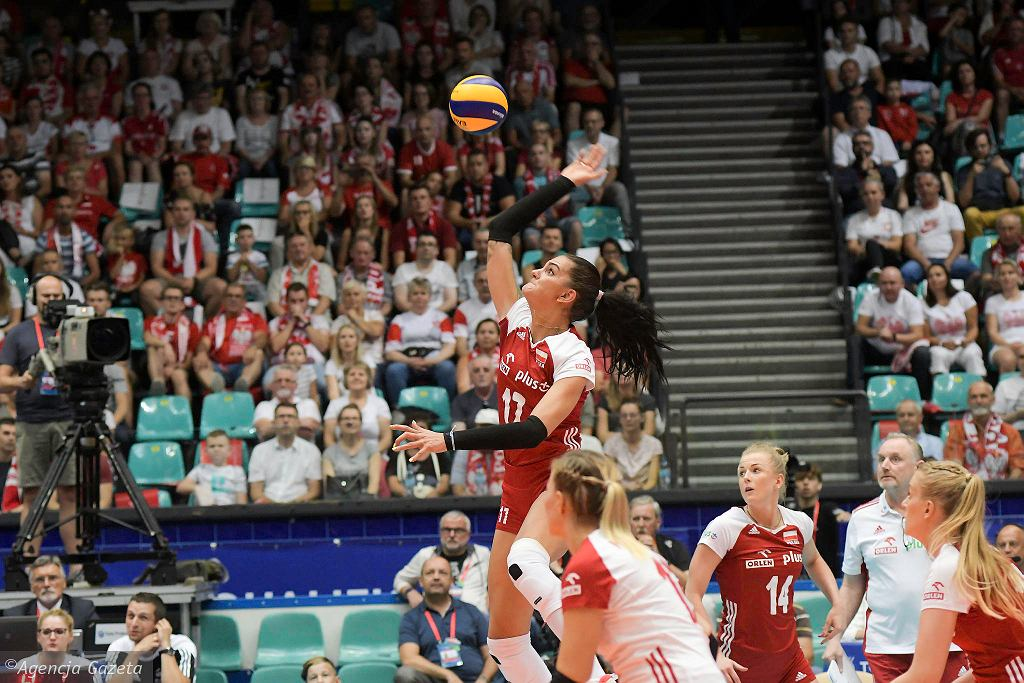 Malwina Smarzek-Godek zdobyła w meczu z Serbią 27 pkt