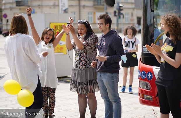 Zdjęcie numer 24 w galerii - Młodzi plastycy przekonywali częstochowian: Kultura nie boli [ZDJĘCIA]