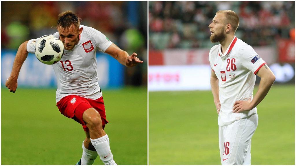 Maciej Rybus i Tymoteusz Puchacz