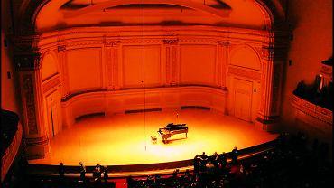 Carnegie Hall. Zdjęcie ilustracyjne