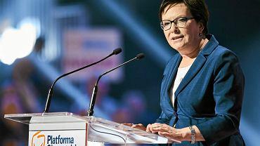 Była premier Ewa Kopacz