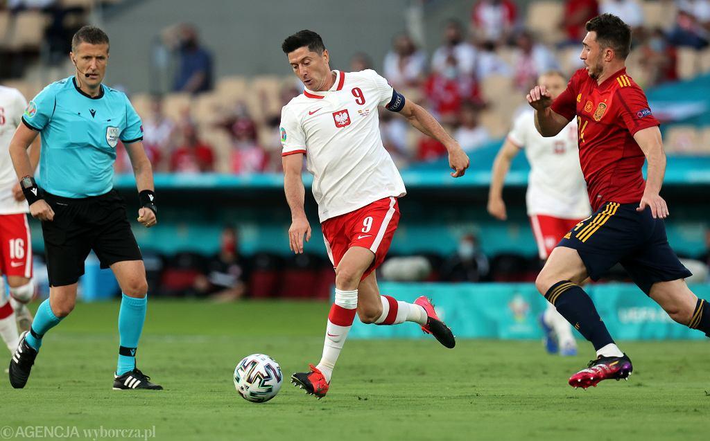 Mecz Polska - Hiszpania w Sewilli