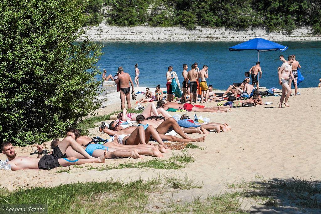 Upał w Opolu. Ochłoda w kąpielisku Silesia