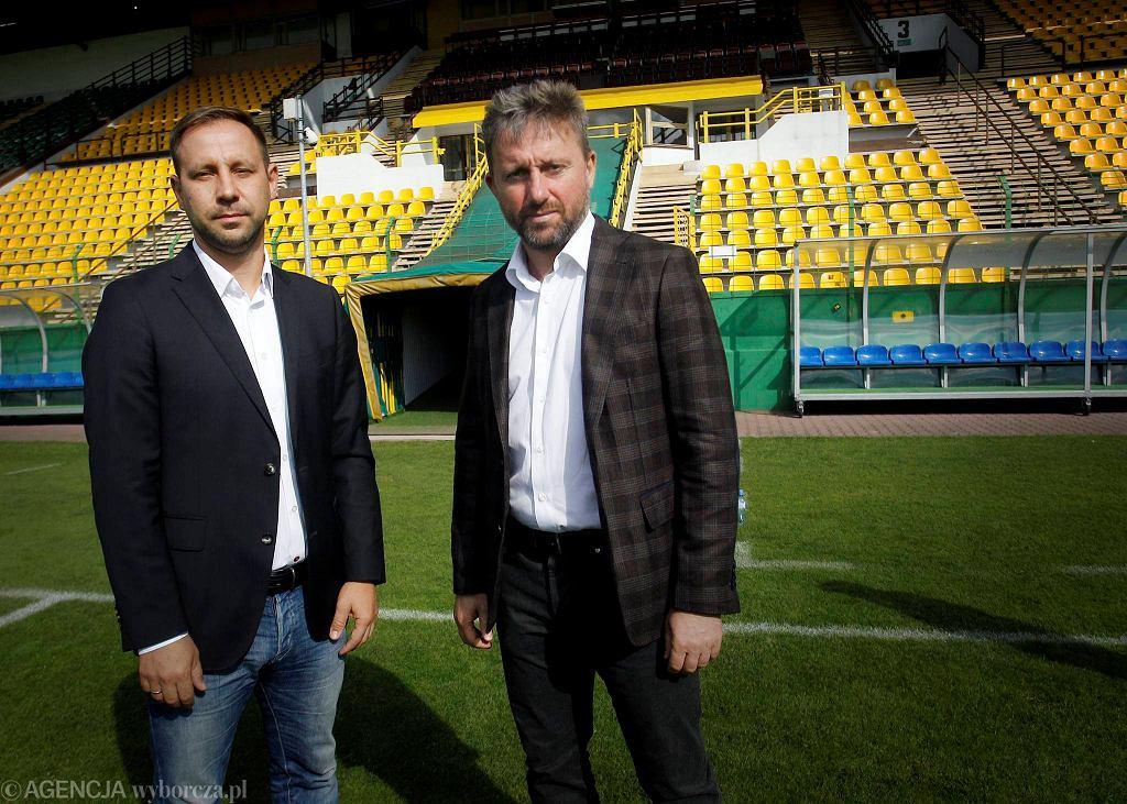 Jerzy Brzęczek i Dariusz Motała