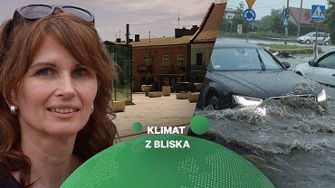 Zmiany klimatu w miastach.