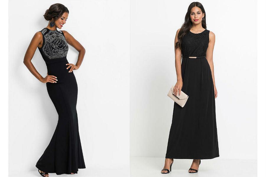 Suknie wieczorowe długie czarne