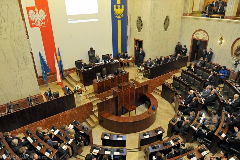 Pierwsze posiedzenie Sejmiku Śląskiego, 21 listopada 2018.